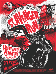 Image of Scavenger Run Poster