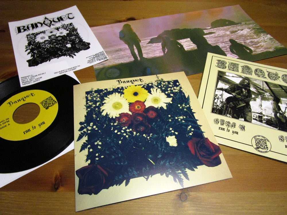 """Image of BANQUET - 'Run To You / Mother Road' 7"""" Vinyl"""
