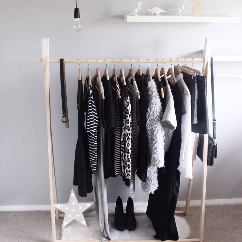 Image of Adults clothing rack