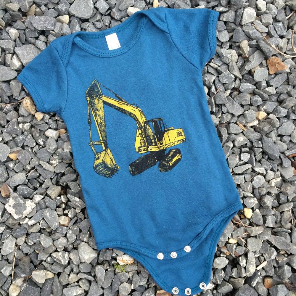 Image of Baby Excavator Onesie