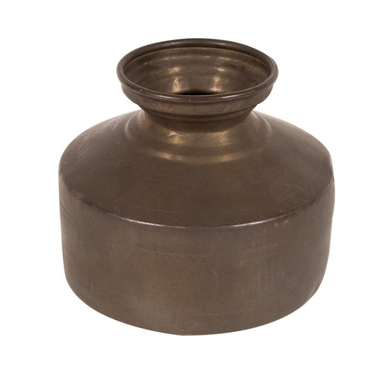 Image of Vintage Copper Water Jug from India 4