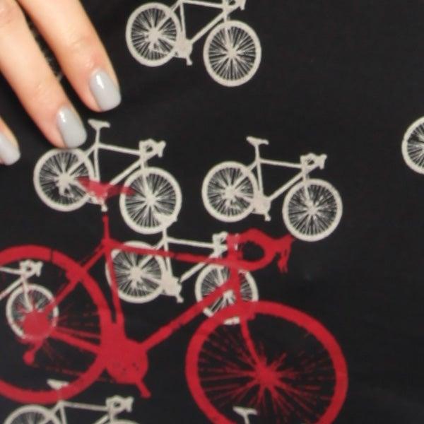Image of Black Bike Bamboo T