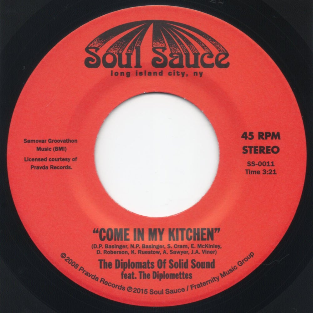 """Image of Come In My Kitchen / Wicked One Hop - 7"""" Vinyl"""