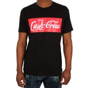Image of Cash Crew Tee (Black/Red/White)