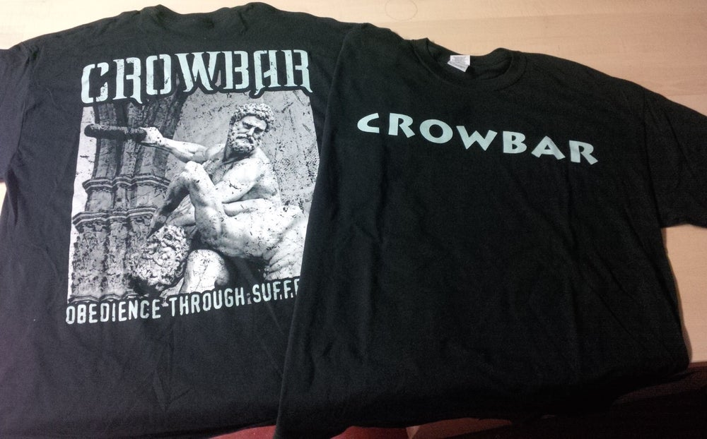Image of CROWBAR 2 SIDED OBEDIENCE SHIRT