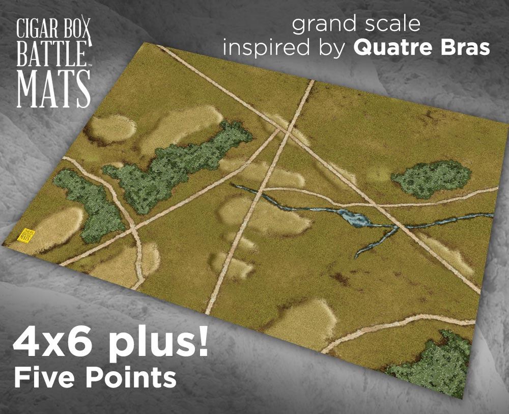 Image of Five Points -- 4'x6' plus -- #181