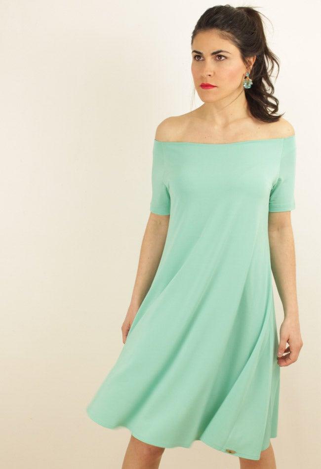 Image of TURQUOISE DRESS