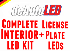 Image of Interior Set + License Plate Housing LED Combo Sale fits: MK6 Golf /GTI