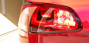 Image of Bright RED Fog LED Fits: MKVII 2015+ Volkswagen GTI / Golf