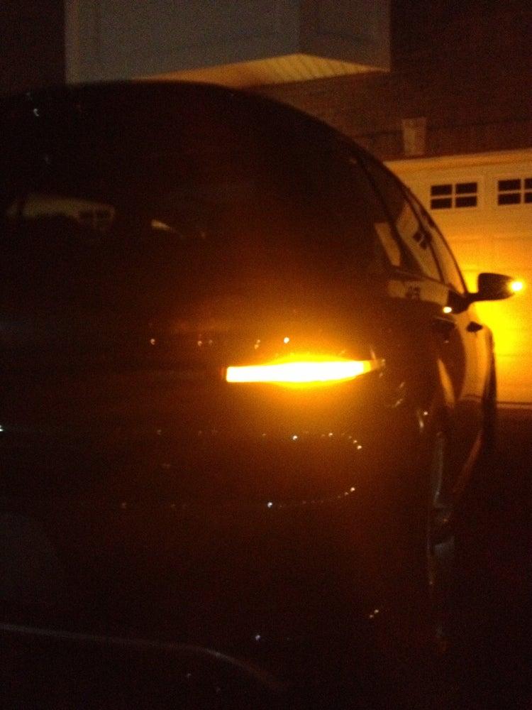 euro taillight rear turn signal amber  error fits golf gti mk golf  deautokey
