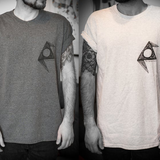 "Image of Shirt - Moon   ""ash"" & ""tweed"""