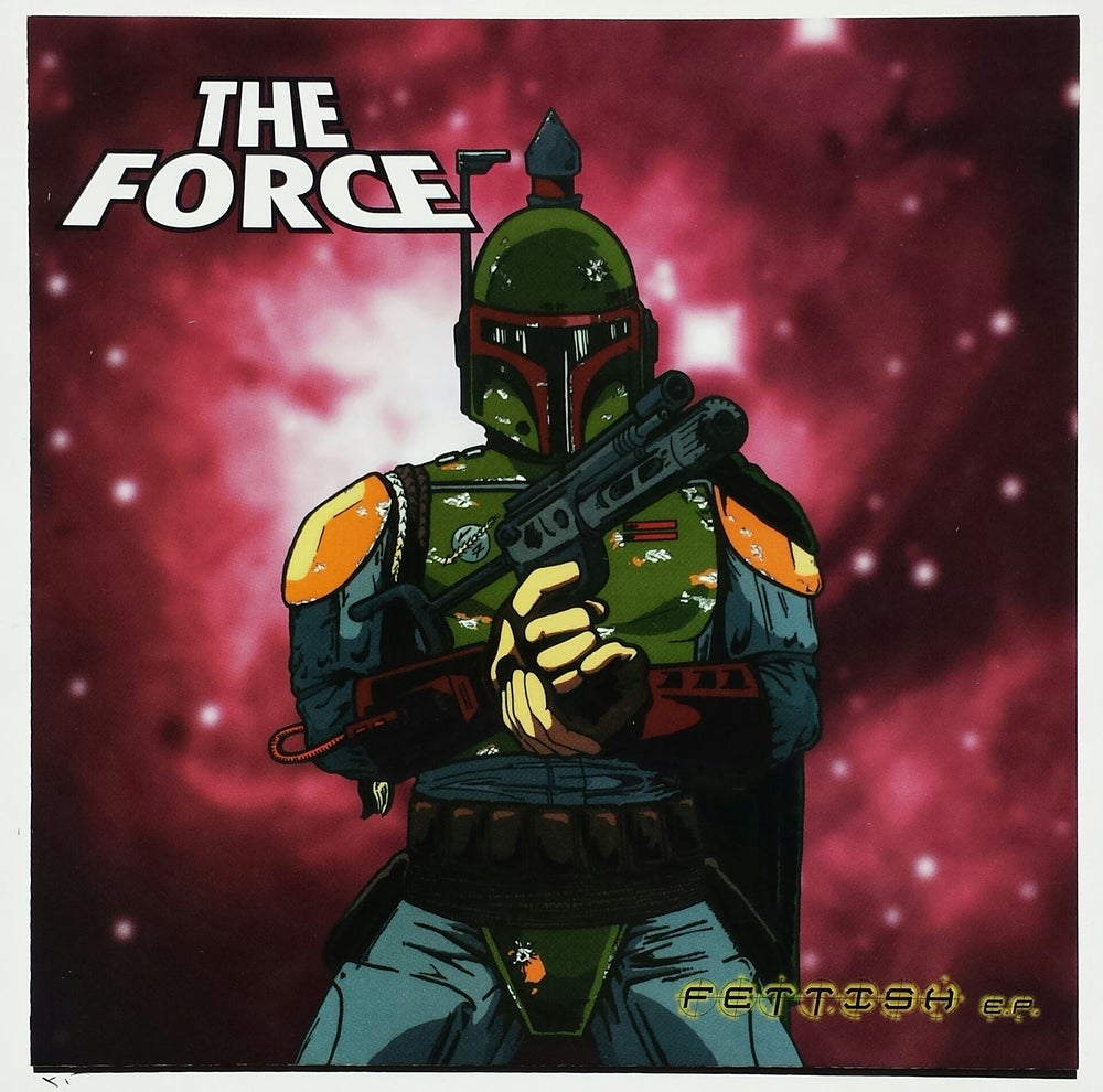 "Image of WEDGE RECORDS #8  THE FORCE ""Fettish"" 7"""