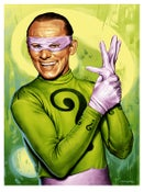 """Image of """"Riddler '66"""" - 18"""" x 24"""" limited edition screen print"""