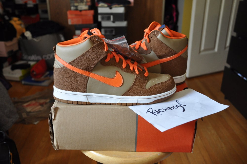 """Image of NIKE """"THE THING"""" DUNK (BEECHTREE)"""
