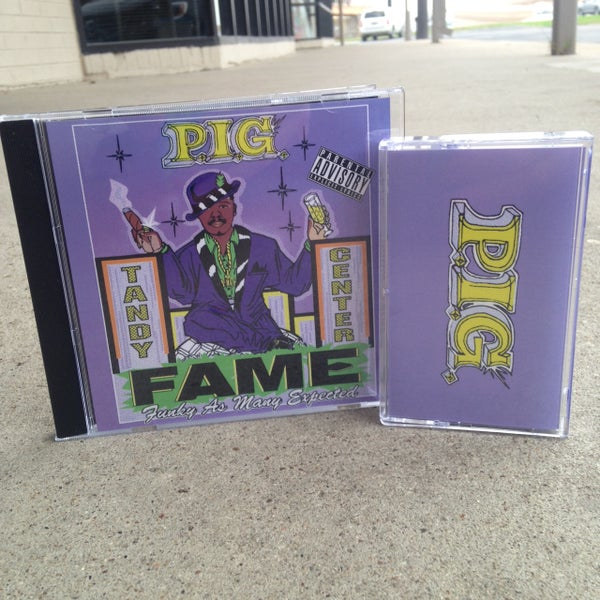 Image of P.I.G. - Funky As Many Expected CD & Down To Bust Cassette Tape