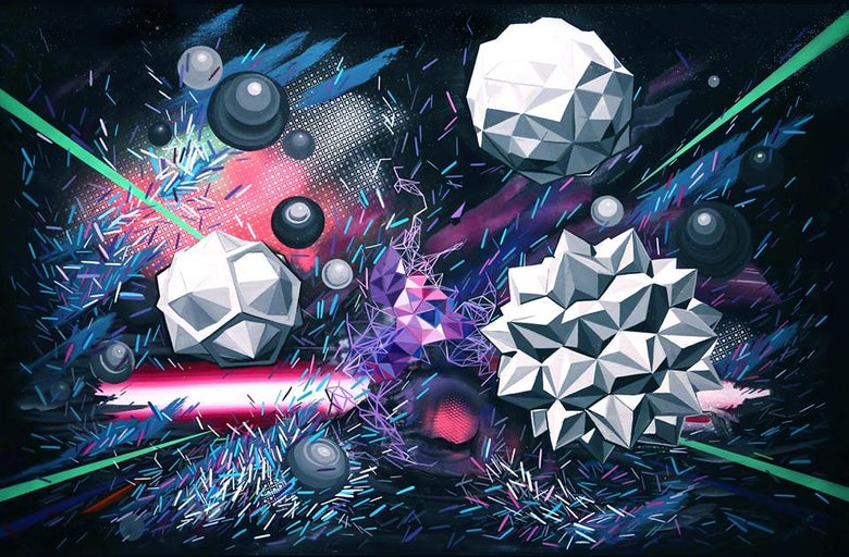 Image of Hyper Innergy limited edition prints