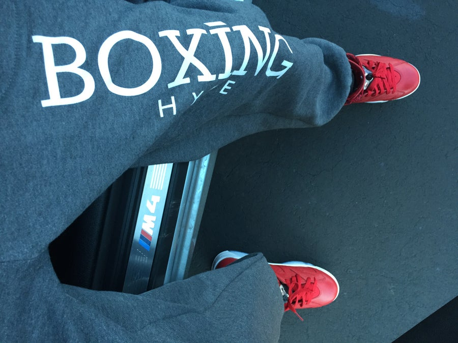 Image of MENS BoxingHype SWEAT PANTS