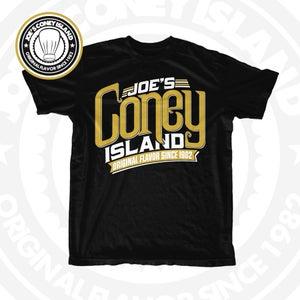 "Image of JCI ""On Fleek"" - Black tshirt - Gold/White Print"