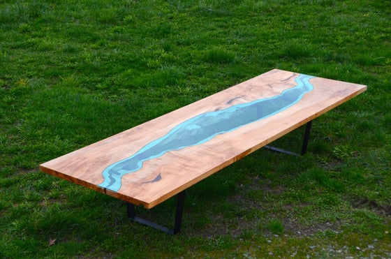 Image of 13' river conference table