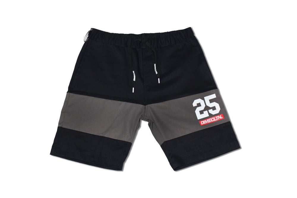 Image of DIME 2-TONE CUT & SEW SHORTS
