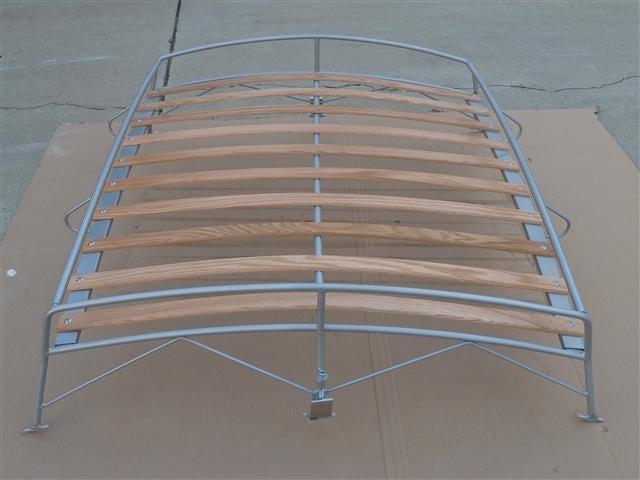 Image of VINTAGE SILVER POWDER COAT VW BUG ROOF RACK