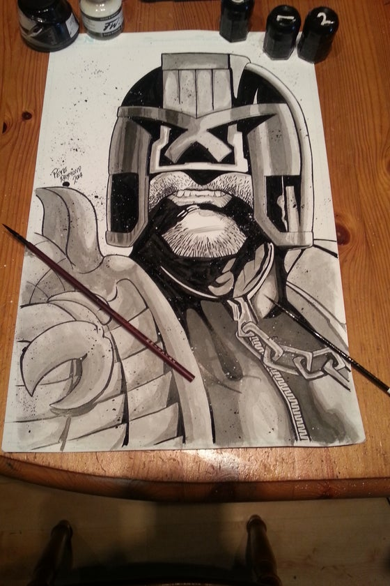 Image of Judge Dredd Original
