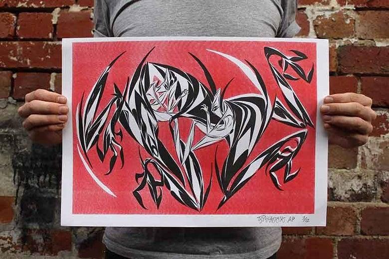 Image of  Shida - Black Canyon Print Edition