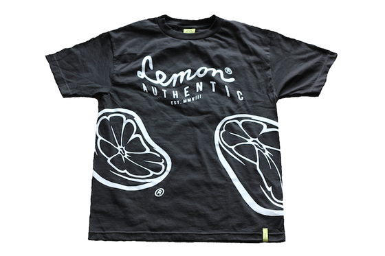 Image of Lemon® Warped Tee (Black)