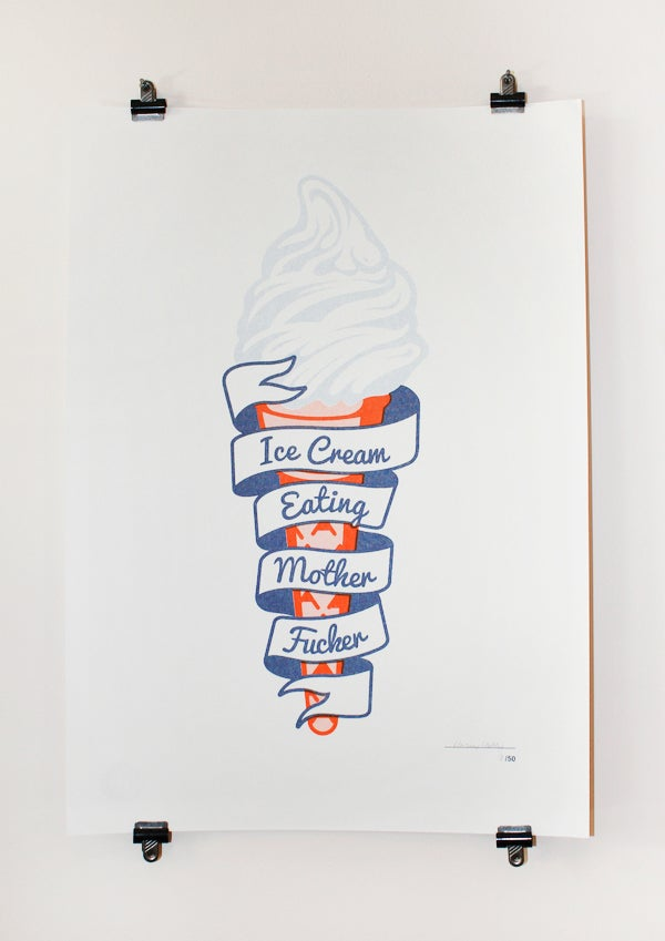 Image of A3 Ice Cream Print