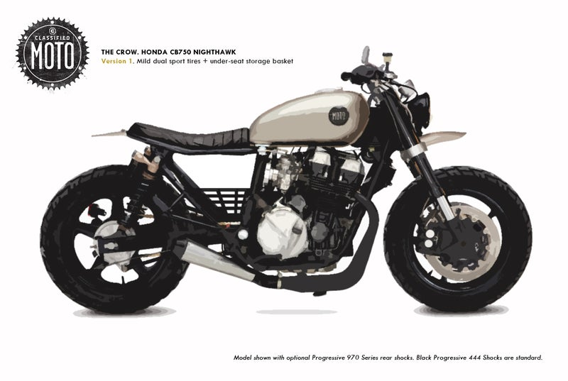 "Image of BUILD QUEUE REQUEST: CB750 ""The Crow"""