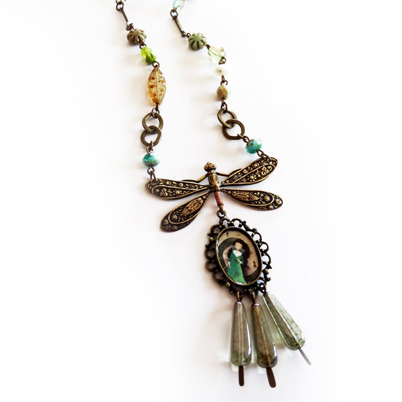 Image of The Spiral of Dreams ll necklace