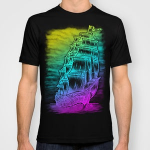 Image of CALEUCHE GHOST PIRATE SHIP T Shirt!