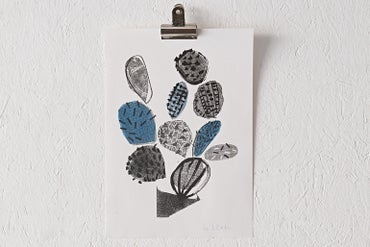 Image of 'Cactus' Riso Print
