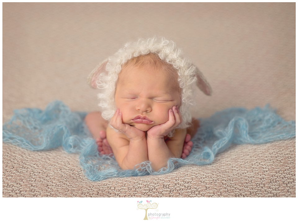 Image of Little Lambchop Bonnet