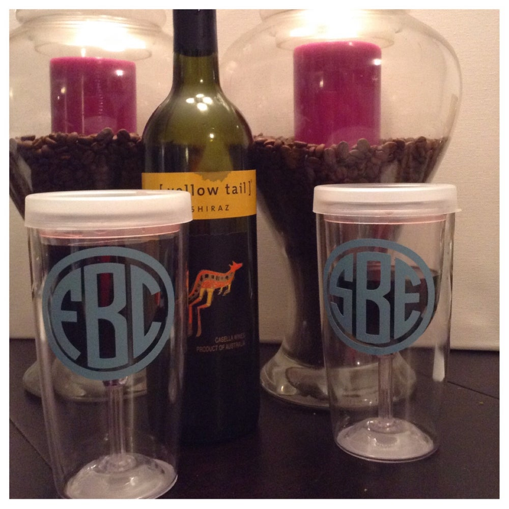 Personalized Wine 2 Go Cups Sadie And Tenell