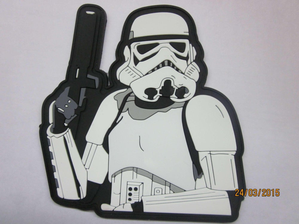 Image of Stormin In Style RUBBER PVC w/Velcro backing -IN STOCK