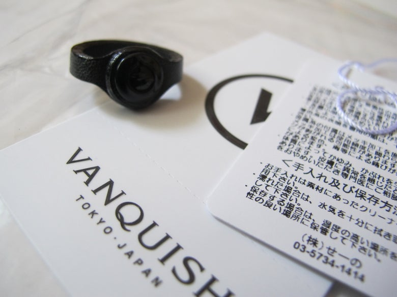 Image of DENIM BY VANQUISH & FRAGMENT - Ring (Black)