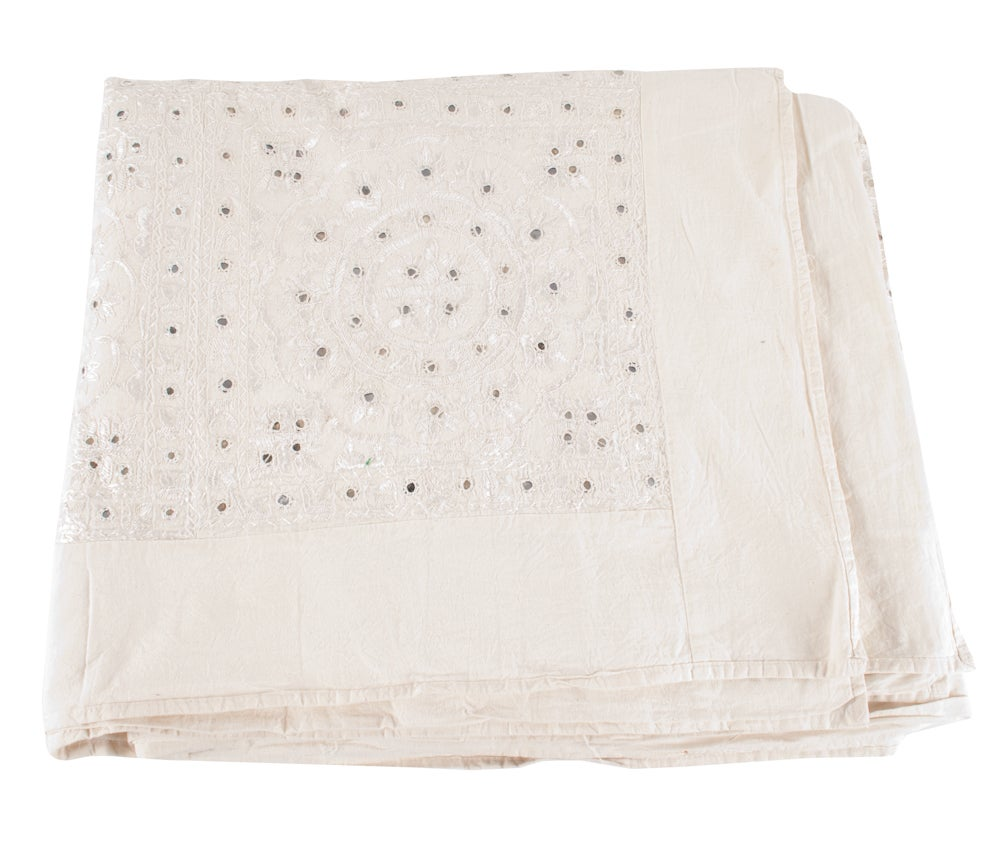Image of Mirrored Indian Bed Cover 2