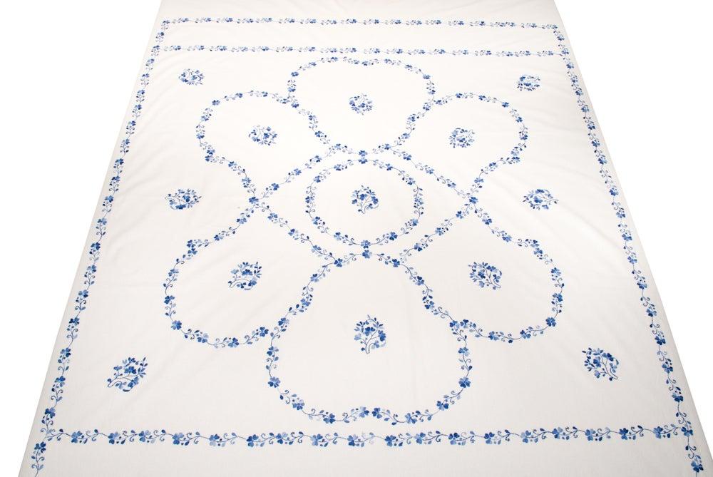 Image of Indian Floral Bedding Set