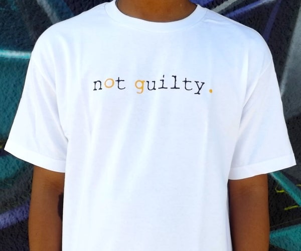 Image of NOT GUILTY