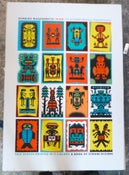 Image of !WOW! Simmetrical Papercuts Poster by Henning Wagenbreth