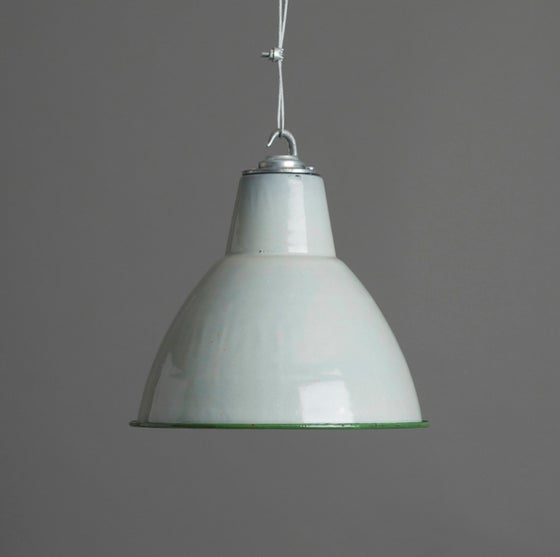 Image of Grey Enamel Pendant
