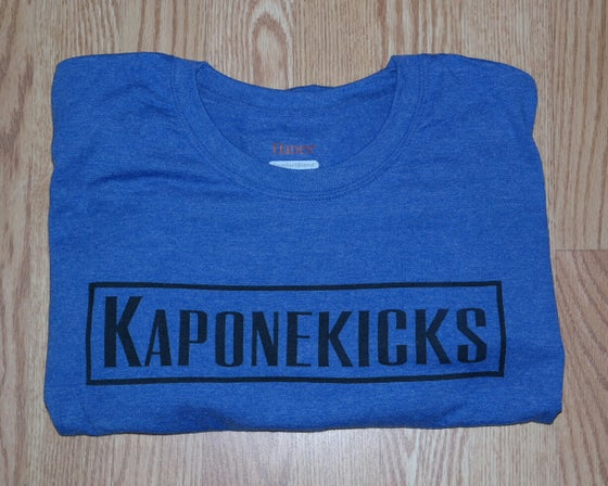 Image of Blue Kaponekicks T-shirt