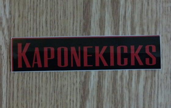 Image of Kaponekicks Stickers