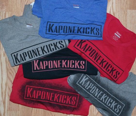 Image of Kaponekicks T-shirt to order