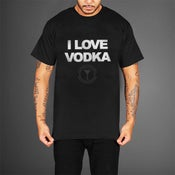 Image of I LOVE VODKA SHIRT (MENS)