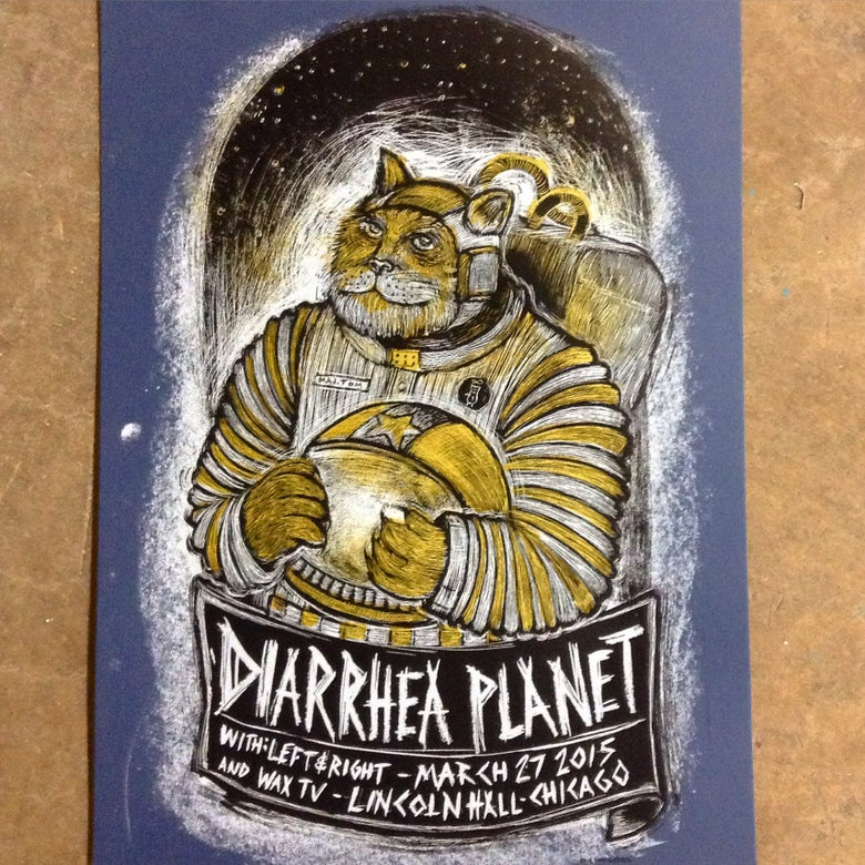 Image of Diarrhea Planet Lincoln Hall poster