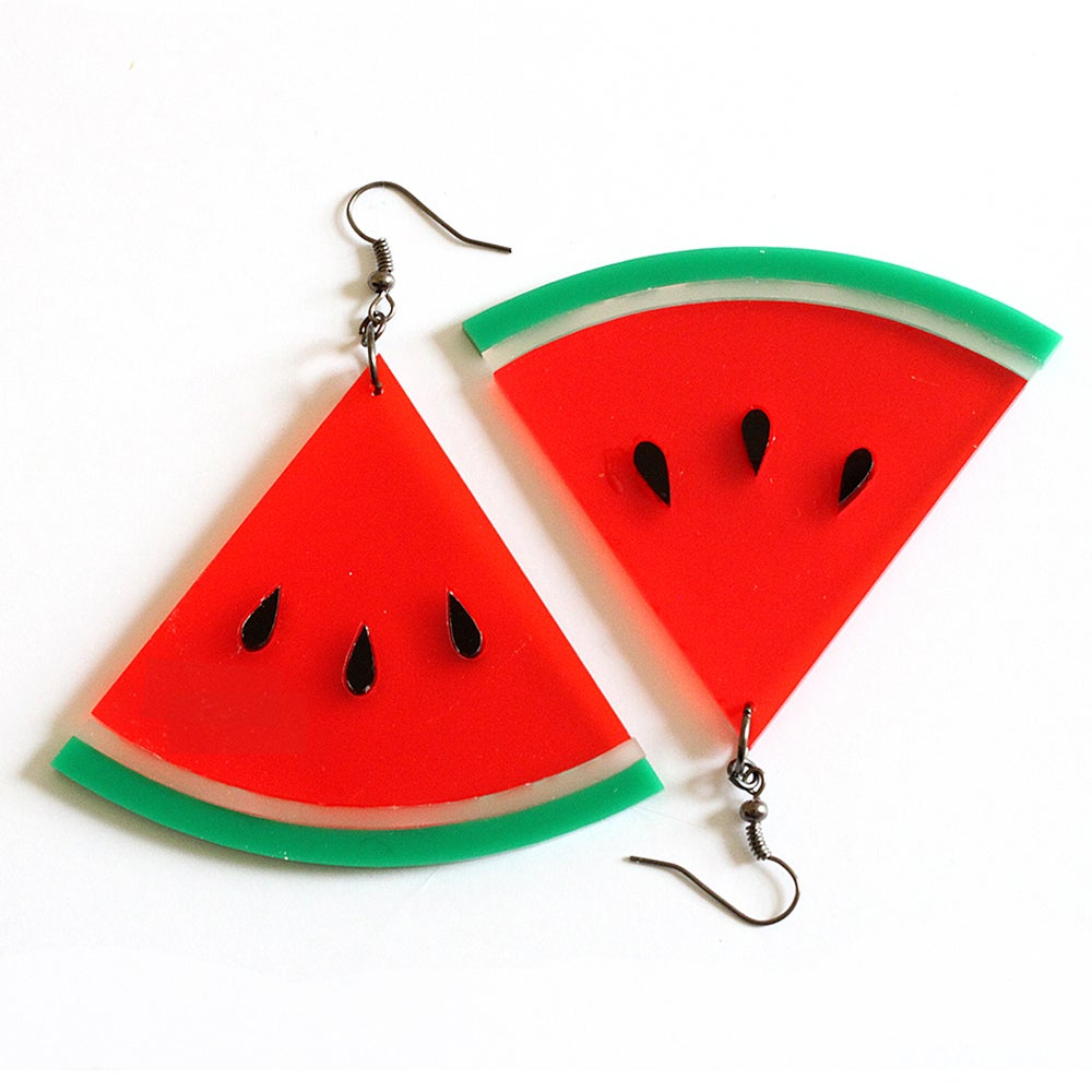 Image of Watermelon Earrings