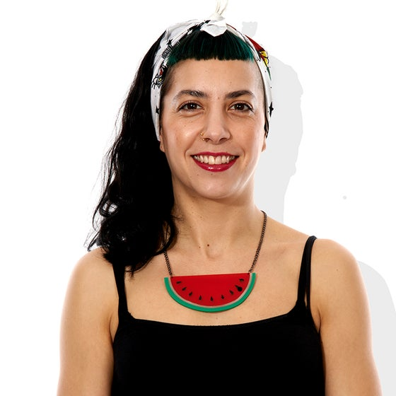 Image of Watermelon Necklace