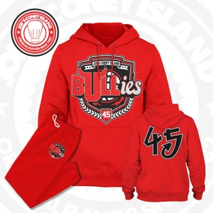 Image of The Bullies - Chicago bulls - Red - Double Nickel